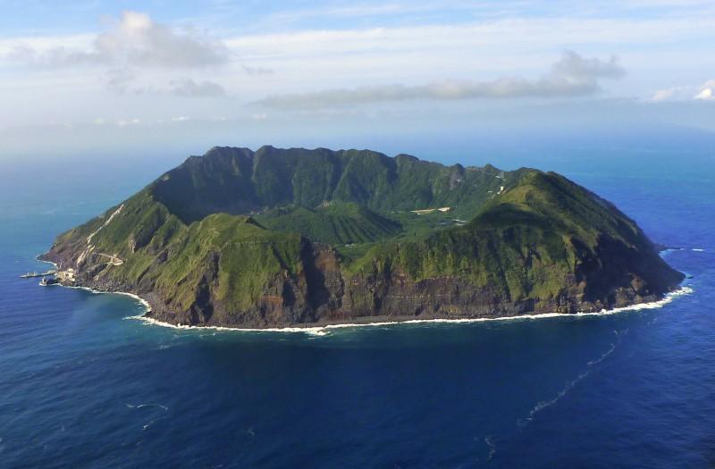 Аогашима — обитаемый остров вулкан