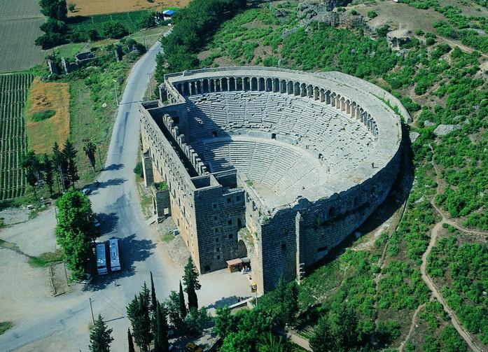 Древний театр в Аспенде