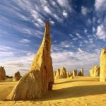 Пустыня Пиннакли и её фантастические пейзажи