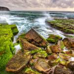 Необыкновенный каменный пляж Туриметта в Австралии