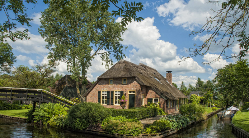 Деревня Гитхорн. Голландия