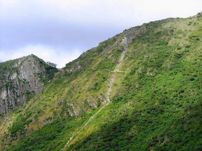 Тропа на гору Уайна-Пикчу
