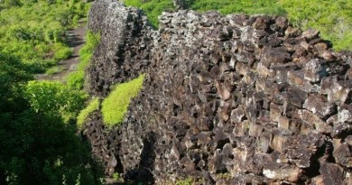 Стена Слез на Галапагосских островах