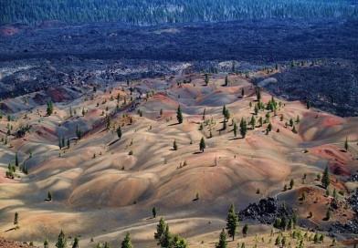 Дюны Национального Вулканического парка Лассен