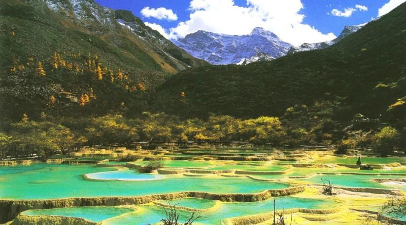 Долина Цзючжайгоу. Место полное достопримечательностей.